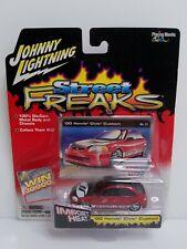Johnny Lightning Street Freaks 00 Honda Civic Custom Red HTF