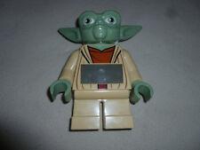Master Yoda Lego Stars Wars The Clone Alarm Clock 2010 Digital Minifigure Potf >
