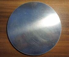 Ronde aus Aluminium AlMg3 Blech, 35,2 x 4 mm einseitig foliert Aluscheibe