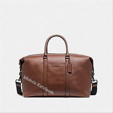 $700 NWT COACH Saddle Trekker Leather Travel Duffle F77921