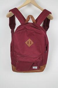 HERSCHEL HERITAGE Unisex ONE SIZE Burgundy Casual Trekking Backpack 38193-GS