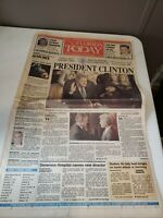 January 21 1993 Vintage Newspaper FLORIDA TODAY President Clinton Cover