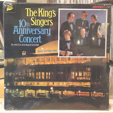 [CLASSICAL]~SEALED LP~The KING'S SINGERS~10th Anniversary Concert~Live~[1977]