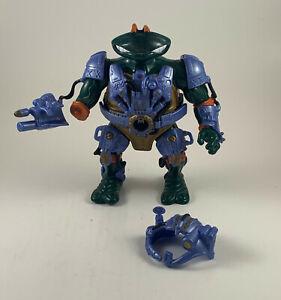 Michelangelo's Cyber Command Mini Mutants TMNT Playset ninja turtle in a mike