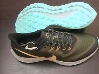 Nike Mens Air Zoom Pegasus 36 Trail Running Shoes Khaki Green Size 11.5 NEW
