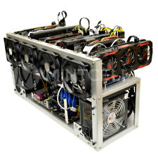 MintCell TITAN-8 Open Air GPU Mining Rig Frame Computer Case Chassis-ETH ZEC XMR