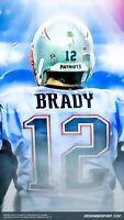 TOM BRADY Poster [Multiple Sizes] NFL Football 06A
