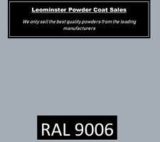 Powder coating powder Ral 9006 NEW! the best we have seen for alloy wheel refurb