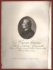 Gio Vincenzo Gravina illustre letterato Rogiano Regno di Napoli Boccanera