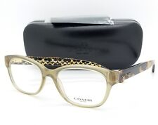 NEW Coach eyeglasses RX Frame HC6117 5508 51mm Olive Tortoise AUTHENTIC 6117