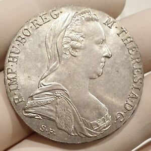 Older Austria Maria Theresa Thaler 1780 Very Large Silver Coin