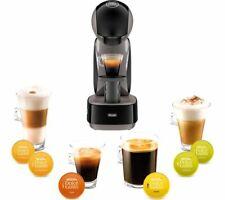 DOLCE GUSTO DeLonghi Infinissima EDG260G Coffee Machine-Black&Grey DAMAGED BOX