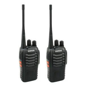 2 x Mitex General Compatible 16ch Long Range 5W UHF 449MHz UK Legal 2 Way Radios