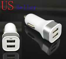 2000mah 2A HIGH POWER USB MINI/MICRO CAR CHARGER ADAPTER DC POWER ADAPTER WHITE