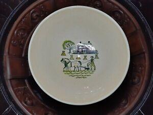 "Metlox Poppytrail Homestead Provincial Vegetable Bowl, 11"" Round 1950's"