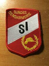 AUSTRIA PATCH POLICE BUNDES GENDARMERIE SI UNIT - ORIGINAL!