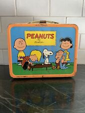 1950's Peanuts Lunchbox Lunchpail Snoopy