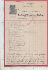 A441 Will B. Ross Kelsey Stove blhd Van Wert, OH S. B. Hertz F. W. Purnoit c1895