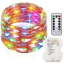 5 Pack - 16ft - Multicolor LED Battery Operated fairy decorative lights