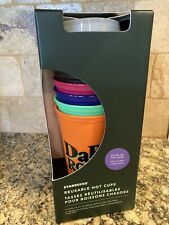 2020 Starbucks Halloween Glow In The Dark Reusable Hot Cups, Brand New, In Stock