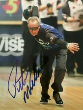 PETE WEBER Signed Autographed PBA BOWLING CHAMPIONSHIP 8x10 PHOTO w/COA