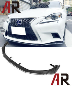 AG Style Carbon Fiber Front Lip For 2013-2015 Lexus IS250 IS350 F Sport Only
