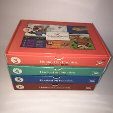 Hooked on Phonics Learn to Read Levels 3 4 5 + Parent Set Home School Education