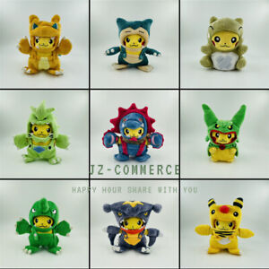 Cosplay Series Plush Stuffed Toy Tyranitar Charizard Hydreigon Rayquaza Garchomp