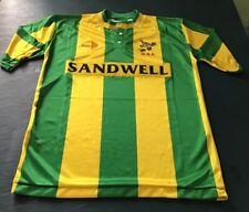 West Bromwich Albion WBA FC 1990-91 Football Away Shirt Size M