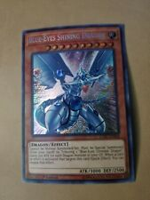 Yugioh Blue Eyes Shining Dragon Secret NM LCKC