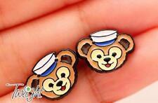 Disney nvay bear bears metal earring ear stud earrings 2PCS earring ne