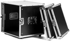 "10 HE 19"" Verstärkerrack Rack Case Flightcase, 43 cm tief, Effektrack TEGO PRO"