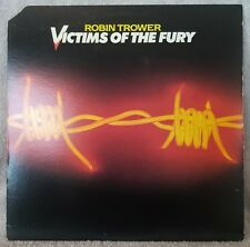 "ROBIN TROWER 1980 Victims Of The Fury (CHR-1215) 12"" Vinyl 33 LP BLUES ROCK VG+"