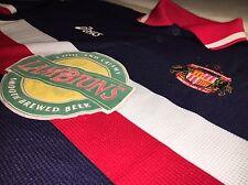 Trikot Sunderland AFC 97/98/99 Away Kit Blau Asics Lambtons Shirt Jersey Maglia