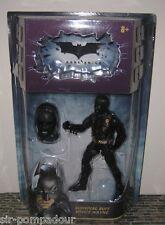 THE DARK KNIGHT BATMAN SURVIVAL SUIT BRUCE WAYNE MOVIE MASTERS FIGURE