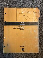 John Deere Jd860 Jd860-A Scraper Parts Catalog Manual Pc-1124