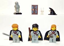 Lego Minifig Lot fr Harry Potter Set 4730 Harry Ron Hermione Diary Owl Hat 8528