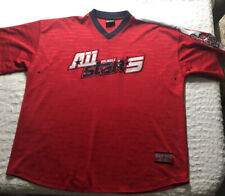 FuBu Athletics All-Stars jersey men sz 2Xl red/navy vintage hip-hop 1992