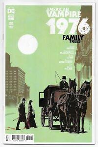 American Vampire 1976 #7 Fornes Variant (DC, 2021) NM