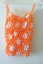 Women's Very Stretchy ruffle sleeveless tank top NWOT 1 Size Fits Most