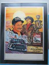 NASCAR Dale Earnhardt Sr Auto Sam Bass Six Shooter! Ltd Edition JSA LOA