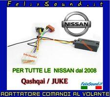 NISSAN INTERFACCIA COMANDI AL VOLANTE CONNETTORE NISSAN / ISO DAL 2008