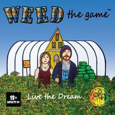Weed The Game - New Marijuana based 6 player Board Game - Weed Game Stoner Game
