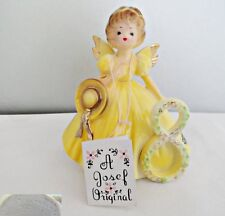 Josef Original Eighth Birthday Angel Figurine