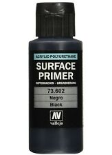 Vallejo Black Surface Primer Acrylic Polyurethane 60ml #73602