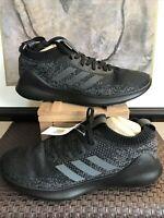 Adidas Purebounce+ M Mens Athletic Running Training Shoes Size 11  Black Gray
