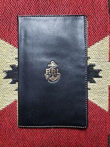 RRL Double RL Ralph Lauren Leather Passport Wallet Card Holder