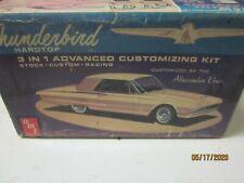 VINTAGW 1 25 MODEL BOX ONLY 1964 THUNDERBIRD BOX AMT JUNKYARD PART LOT