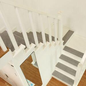2/7/13pcs Non Slip Stair Treads Carpet Self-Adhesive Rug Runner Mats Covers