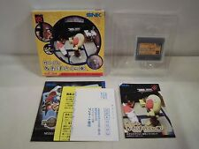 NEOGEO Pocket Color Ganbare Neo Poke Kun Japan Game. Snk. Work Fully